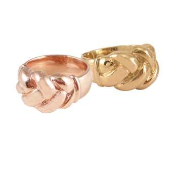 Zoe Chicco Braid Ring